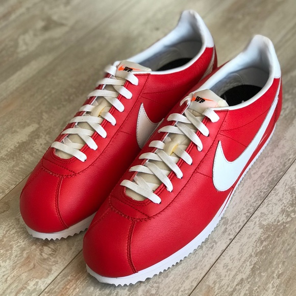 "innovative design 97418 7c8b9 NWT Nike ID Cortez Leather Custom ""WF"". M 5b6b0a3cd6716ae1dd2963a7"
